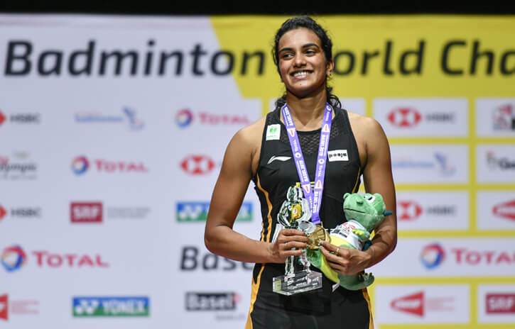 PV Sindhu is the First Indian to Win Gold in World Championships 2019