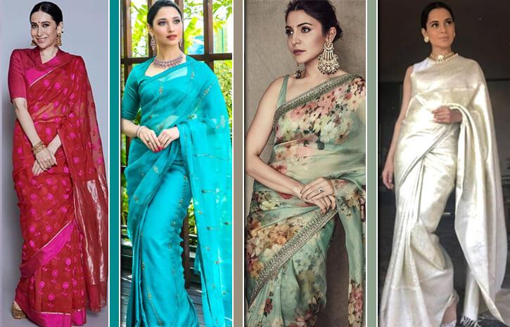 Drape Sarees like Bollywood Divas for the Ganesh Chaturthi