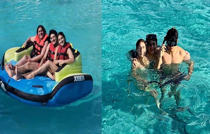 Sara Ali Khan's Holiday pics with family