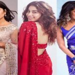 celebrity style saree for saraswati puja