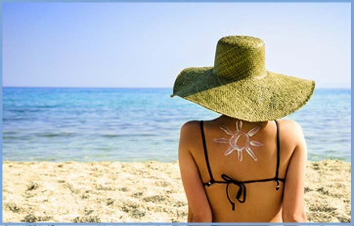skin protection from sunburn